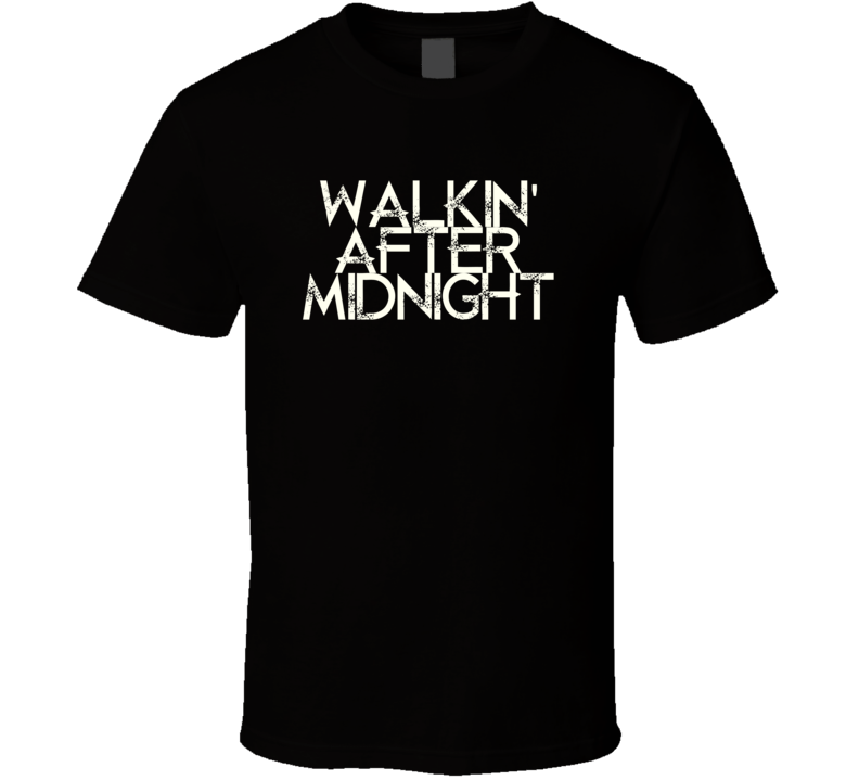 Walkin After Midnight Patsy Cline Country Music T Shirt
