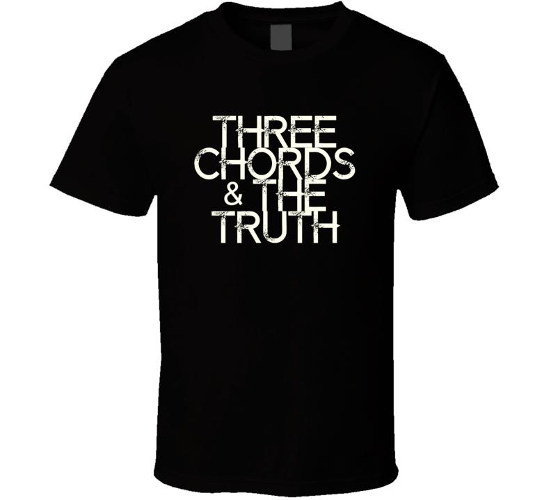 Three Chords The Truth Sara Evans Country Music T Shirt