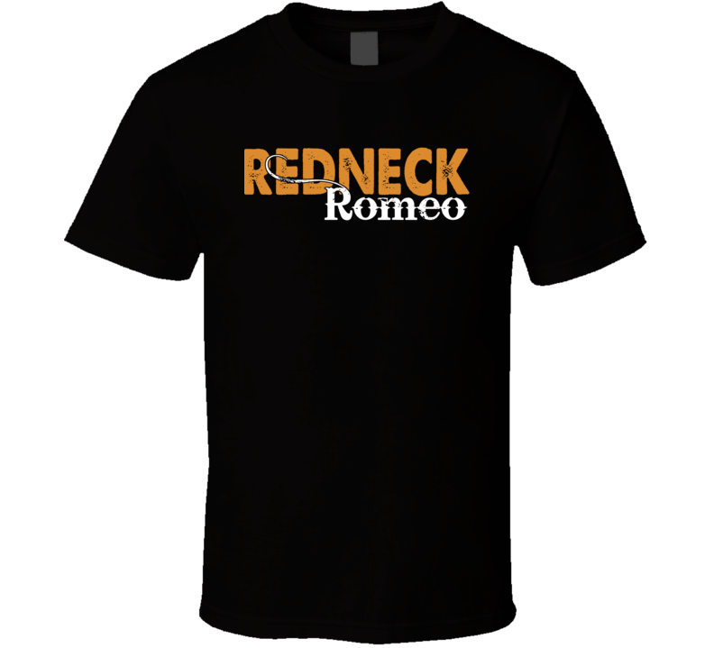 Redneck Romeo Jason Aldean Country Music Party T Shirt