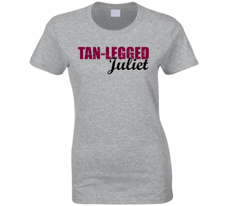 Tan Legged Juliet Jason Aldean Country Music Party T Shirt