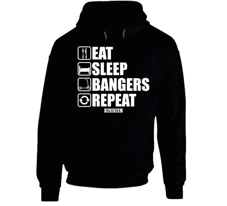 Eat Sleep Bangers Repeat Hoodie