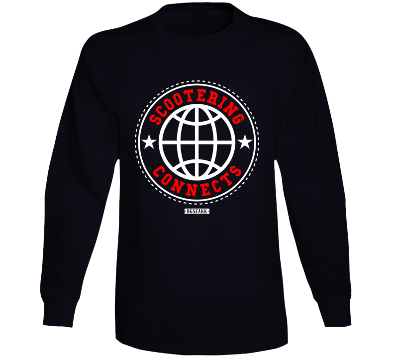 Scootering Connects Long Sleeve T Shirt