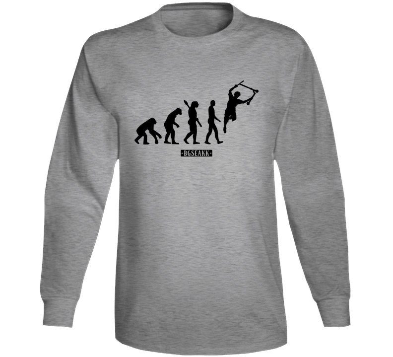 Stunt Scooter Evolution Extreme Sport Scoot T Shirt