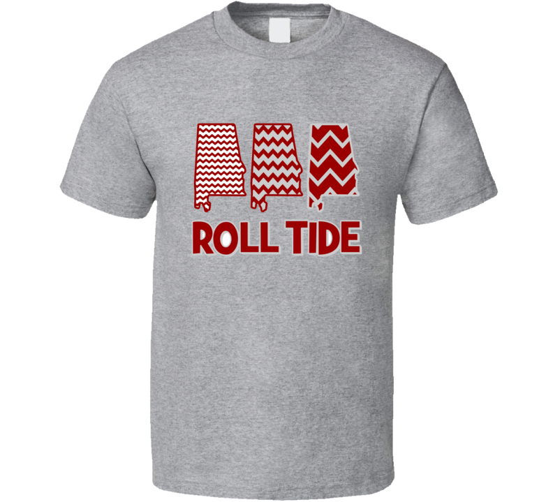 Alabama Texas Crimson Tide Roll Tide Football Fan T Shirt