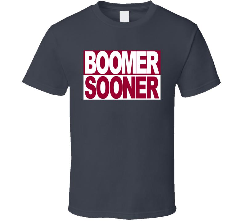 Oklahoma Sooners Boomer Sooner Football Fan T Shirt