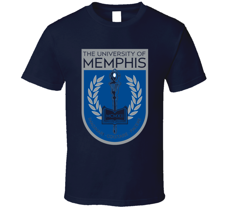 Univeristy Of Memphis Football Fan T Shirt