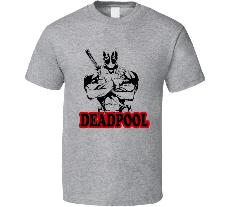 Deadpool 2016 Valentines Movie T Shirt