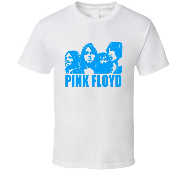 Pink Floyd Band Members Music Logo T Shirt