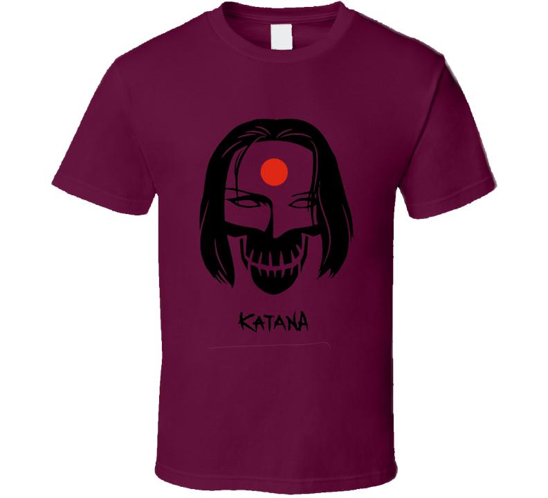 Suicide Squad Katana Fan Movie 2016 T Shirt