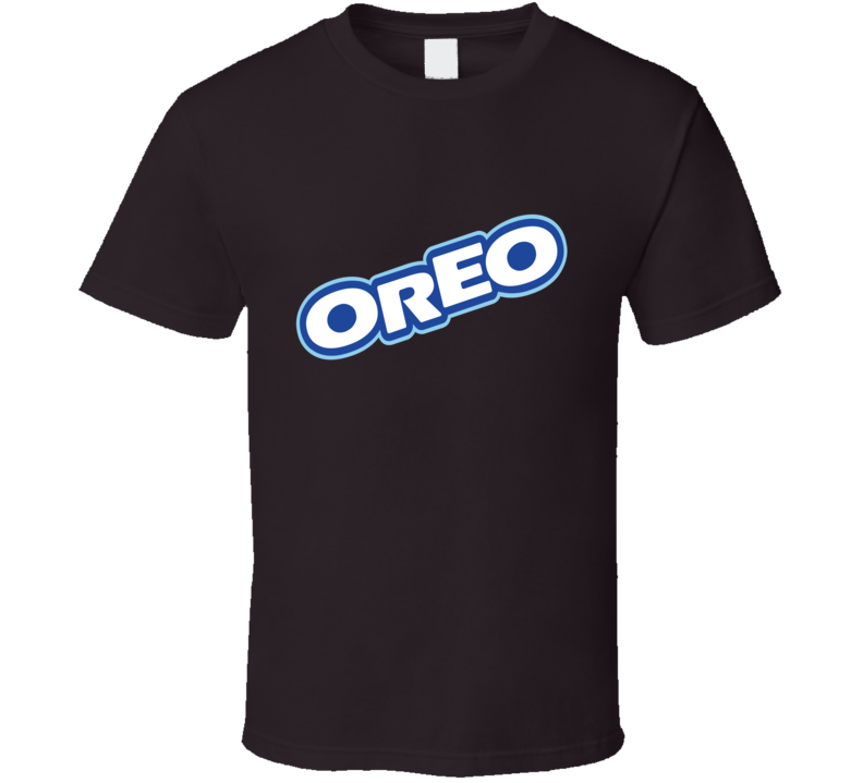 Oreo Chocolate Cookie Logo T Shirt