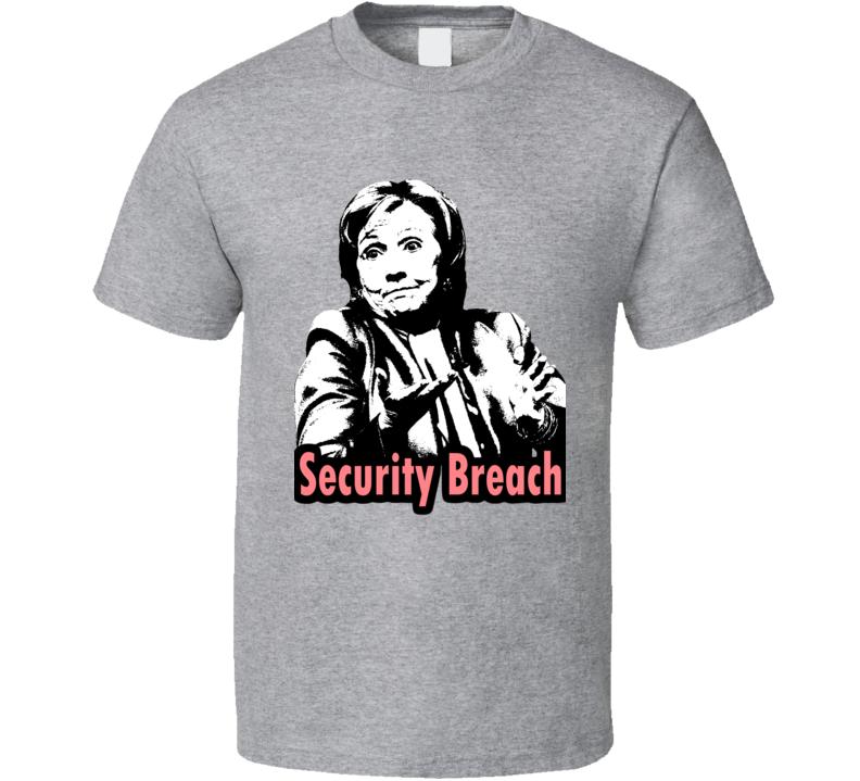 Hillary Clinton Compormises National Security T Shirt