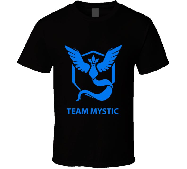 Pokemon GO Team Mystic Pokemon Fan T Shirt