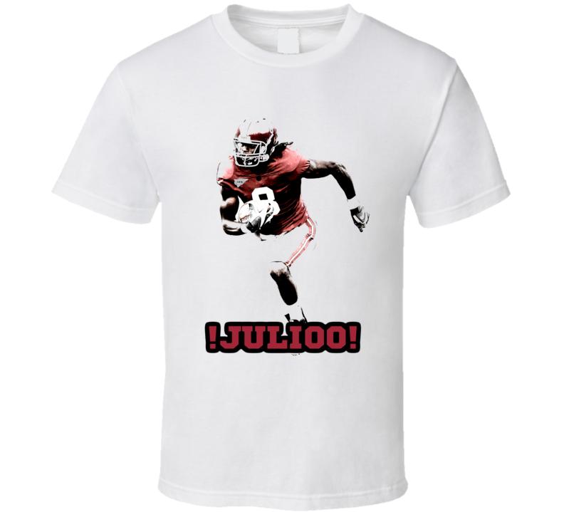 Julio J. Jones Alabama Crimson Tide Football Fan T Shirt