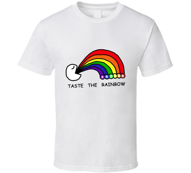 Taste The Rainbow Skittles Candy T Shirt