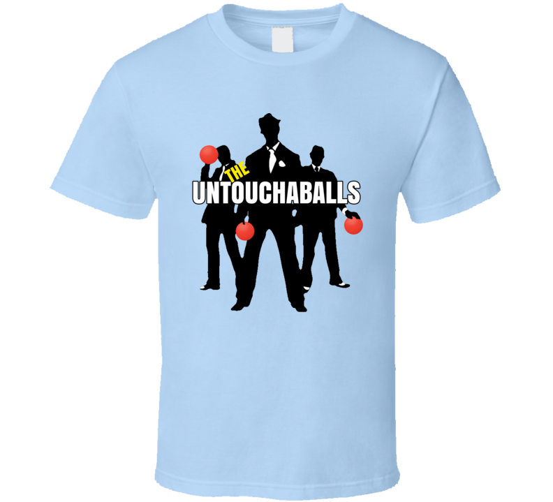 Untouchaballs Dodgeball Team Matching T Shirt