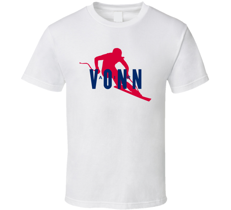 Lindsey Vonn Usa United States Alpine Skiing 2018 Olympic Air Athlete Fan T Shirt