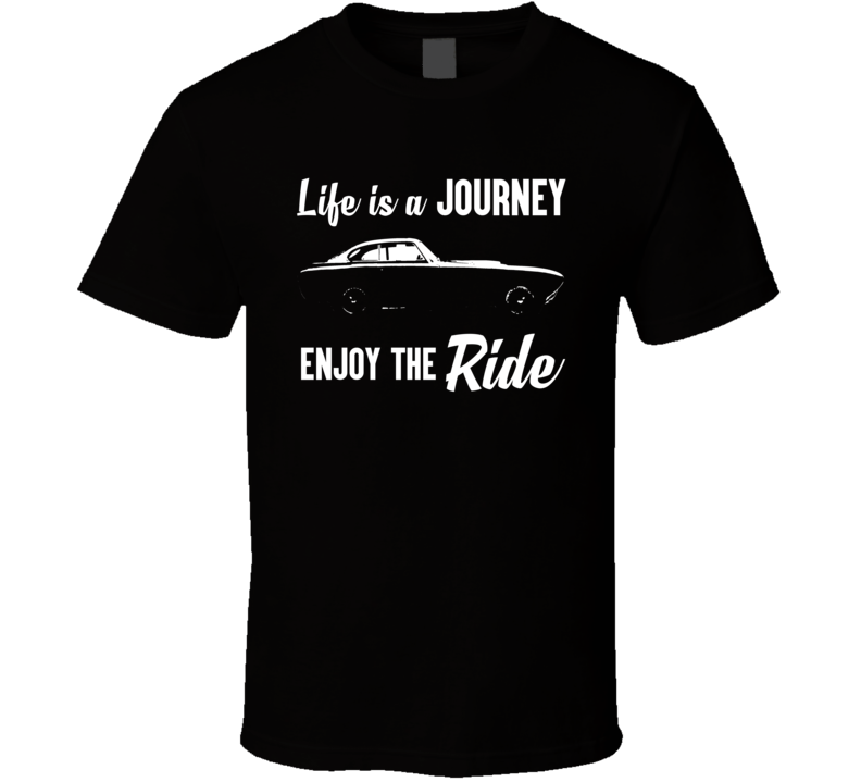 1952 Ferrari 340 Mexico Life Is A Journey Enjoy The Ride Vintage Car Lover Fan Gift T Shirt