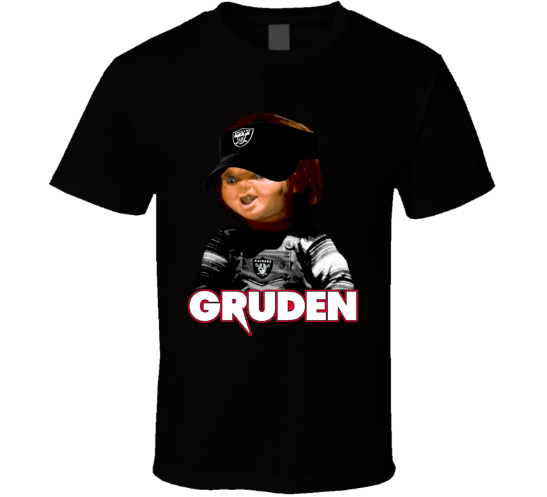Jon Gruden Chucky Oakland Football Coach Funny Doll Mashup T Shirt