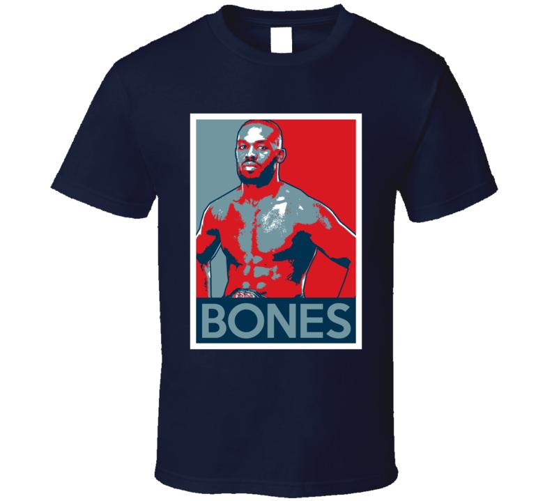 Jon Jones Bones Hope Poster Mma Fighter Fan T Shirt