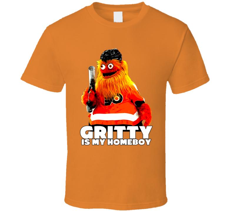 Gritty Is My Homeboy Hockey Mascot Fan T Shirt