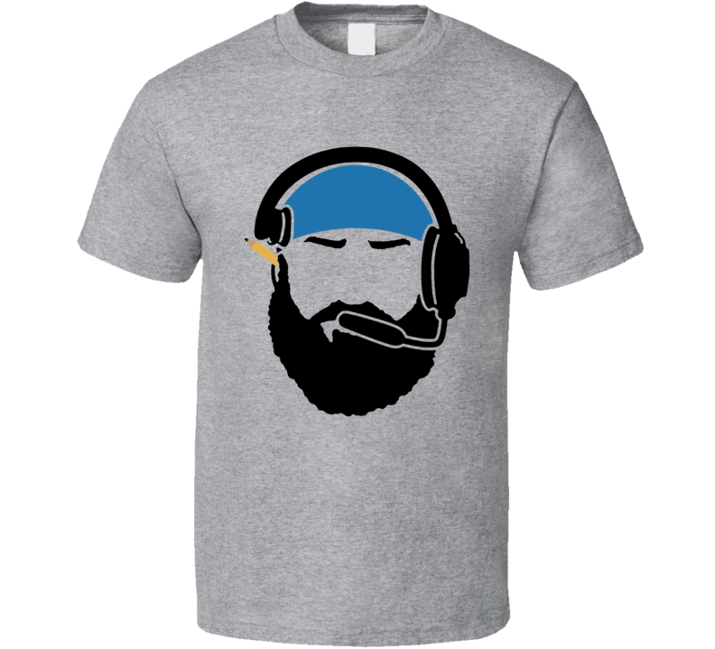 Matt Patricia Silhouette Detroit Football Coach Fan T Shirt