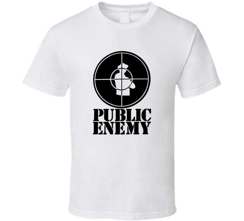 Public Enemy Popular 80s 90s Hip Hop Group Music Lovers T Shirt