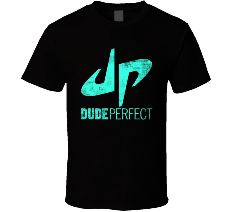 Dude Perfect Sports Entertainment Group Youtube Logo Merch Fan T Shirt