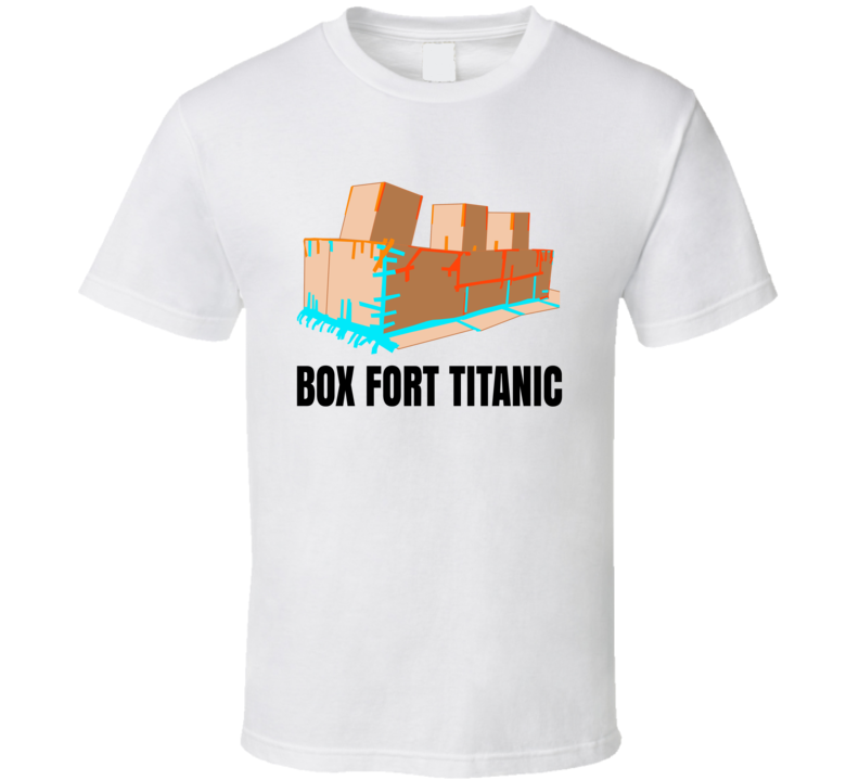 Papa Jake Box Fort Titanic Popular Youtube Personality Fan T Shirt