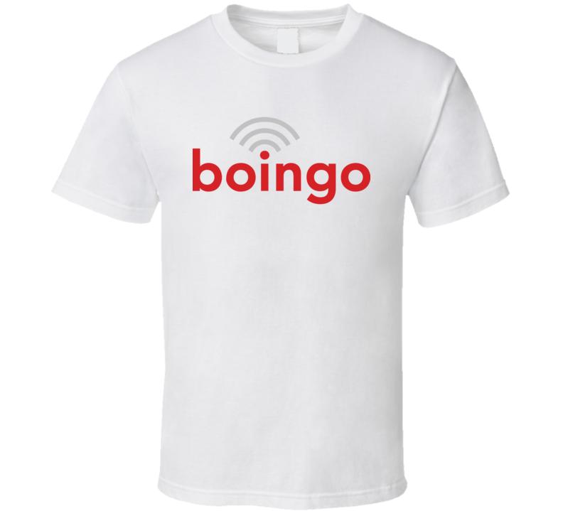Boingo Wireless Nasdaq Company Logo Employee Fan T Shirt