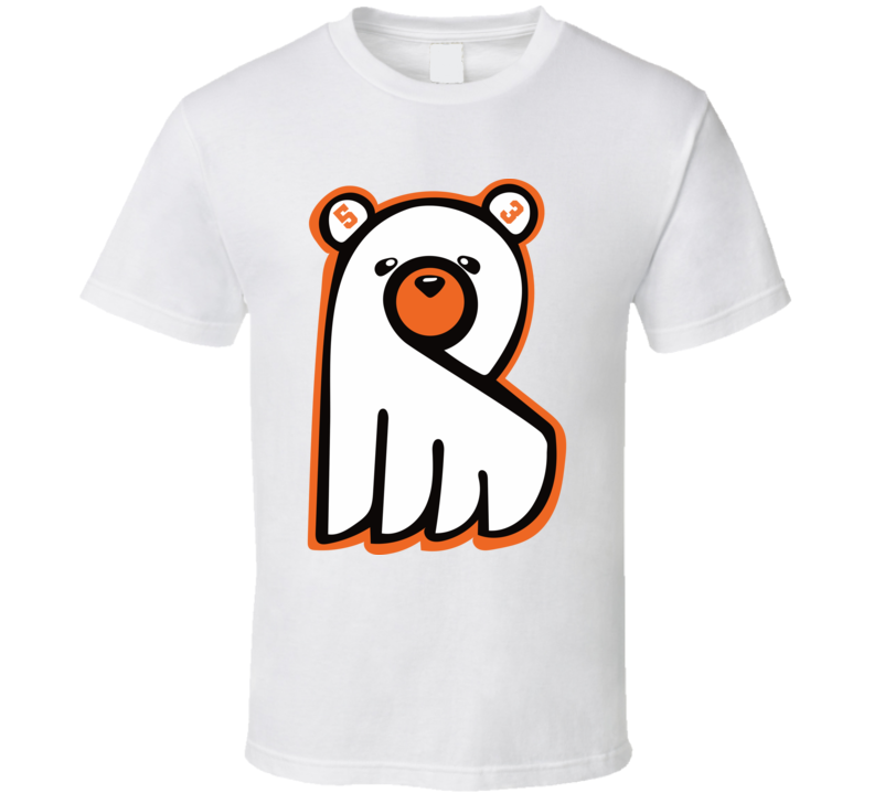 Shayne Gostisbehere Ghost Bear Philadephia Hockey Fan T Shirt