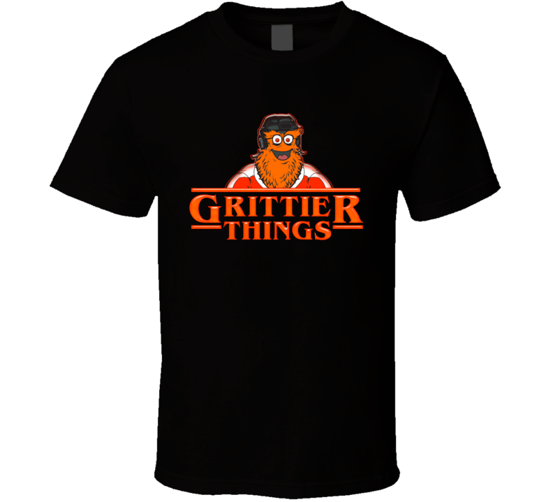 Grittier Things Stranger Things Parody Philadelphia Hockey T Shirt