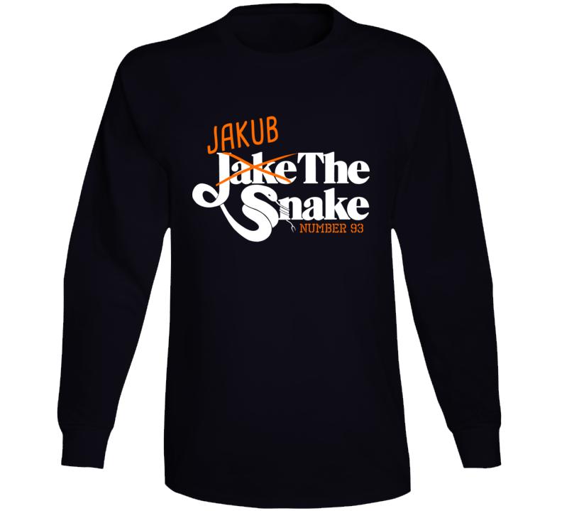 Jakub Voracek The Snake Philadelphia Hockey Long Sleeve