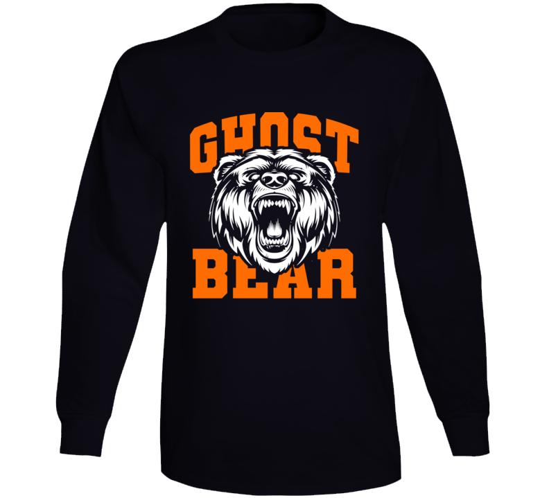 Shayne Gostisbehere Ghost Bear Philadephia Hockey Long Sleeve