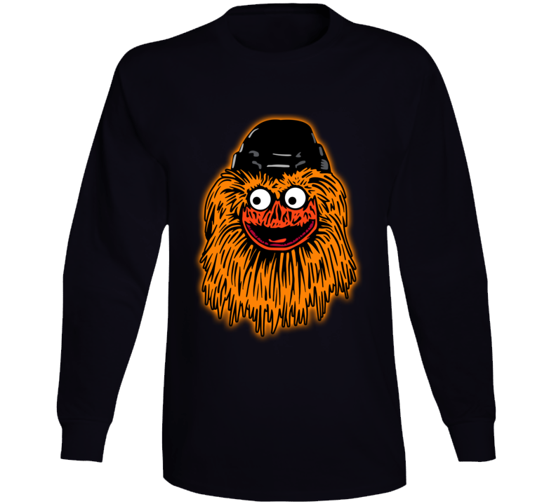 Gritty Mascot Beloved Philadelphia Hockey Fan Long Sleeve