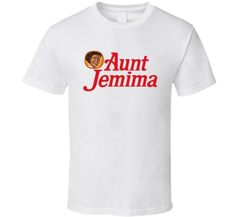 Aunt Jemima Syrup Mascot T Shirt