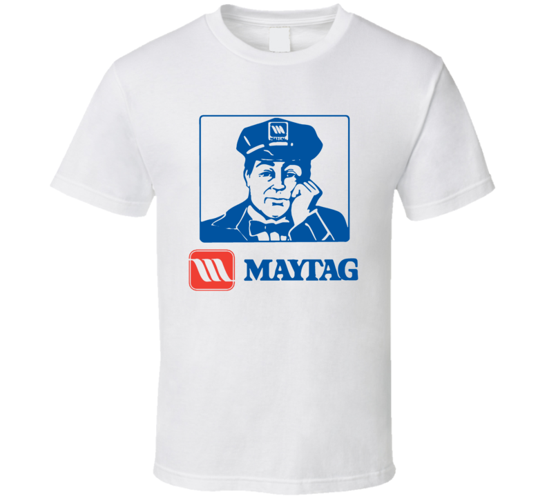 Maytag Repairman Appliance Repair Mascot T Shirt