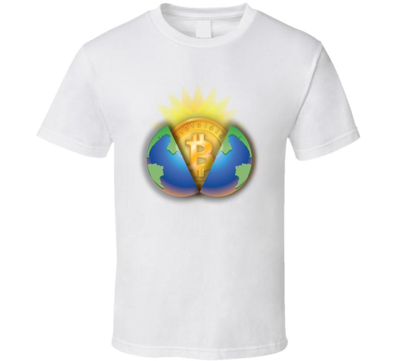 Bitcoin World T Shirt