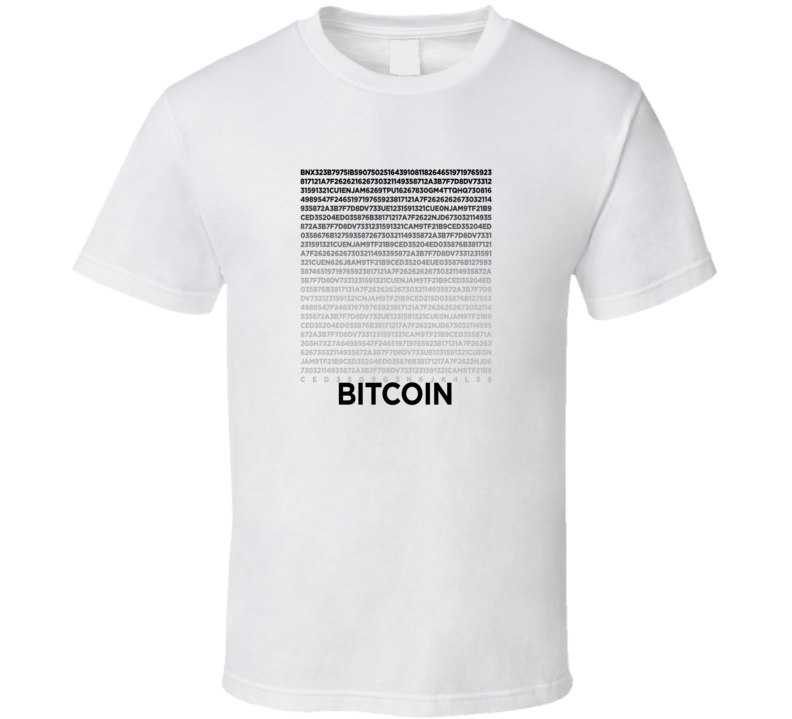 Crypto Currency T Shirt