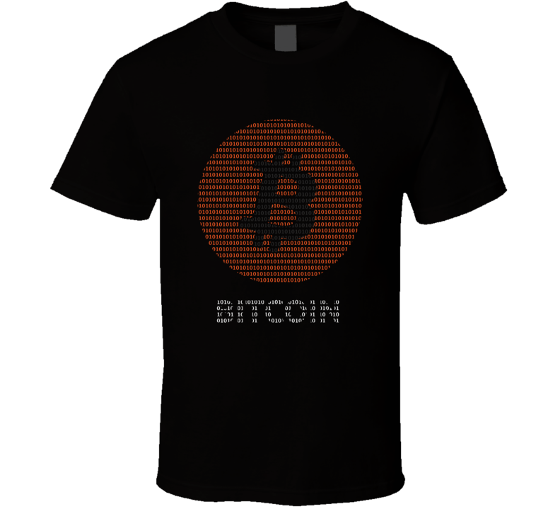 Bitcoin Crypto Code BLACK T Shirt