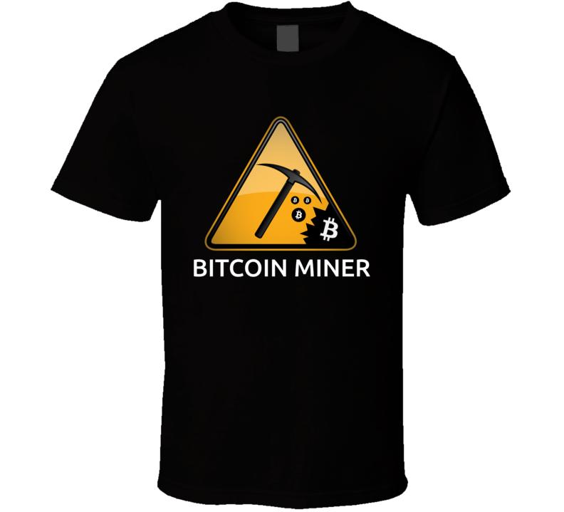 Bitcoin Miner - T-Shirt