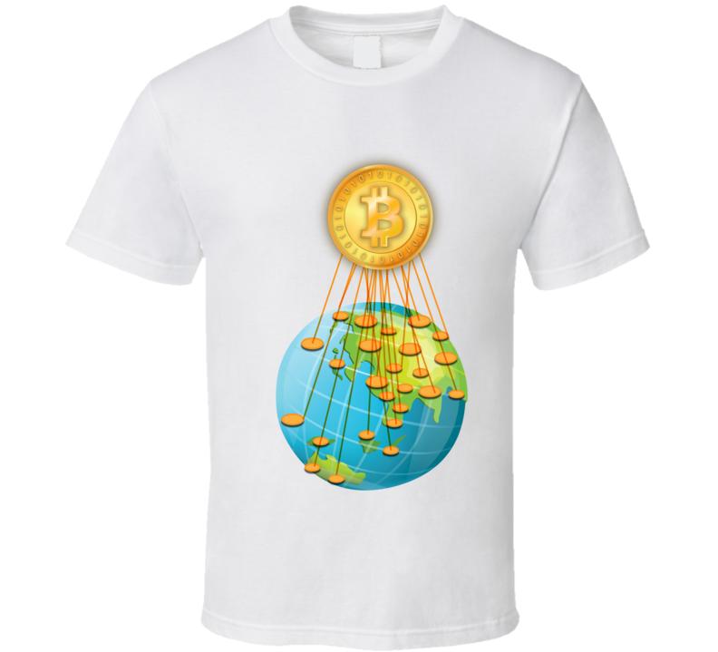 Bitcoin Invasion T Shirt