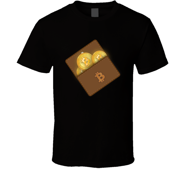 Bitcoin Wallet T Shirt
