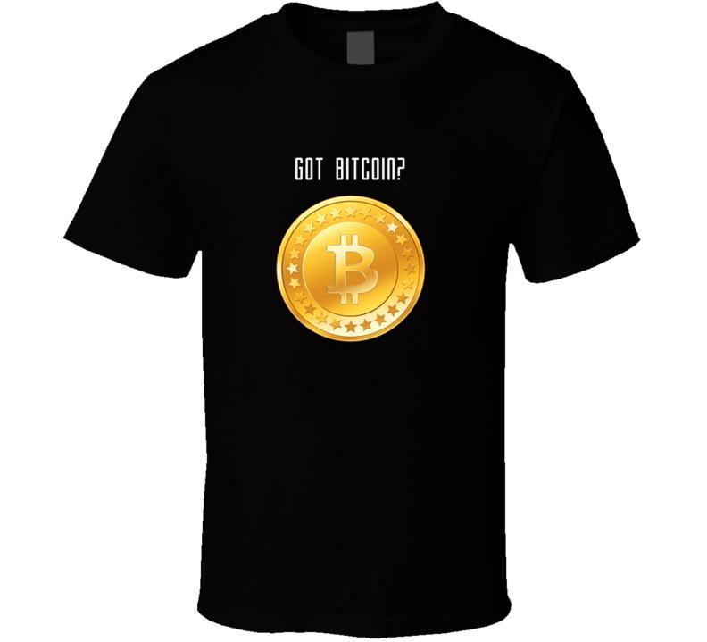 Got Bitcoin Tshirt Lovers Black