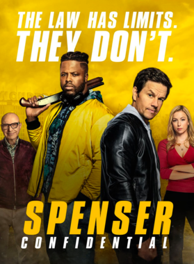 Spenser Confidential 2020 Movie Poster T Shirt