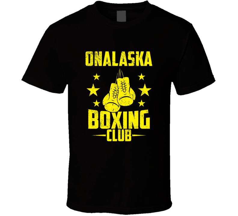 Onalaska Wisconsin Boxing Club Cool Sports Fitness T Shirt