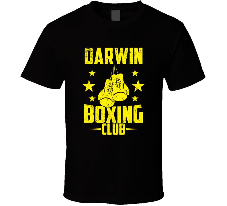 Darwin Minnesota Boxing Club Cool Sports Fitness T Shirt