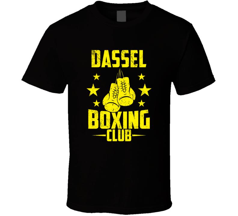 Dassel Minnesota Boxing Club Cool Sports Fitness T Shirt