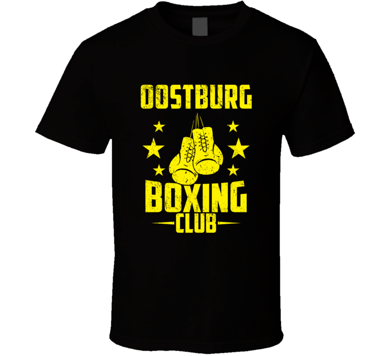 Oostburg Wisconsin Boxing Club Cool Sports Fitness T Shirt