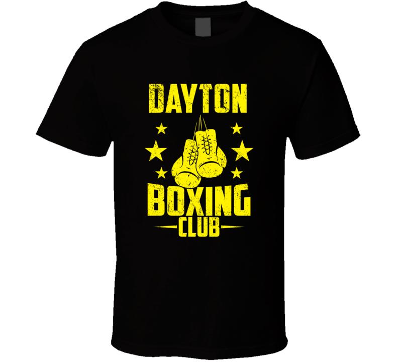 Dayton Minnesota Boxing Club Cool Sports Fitness T Shirt