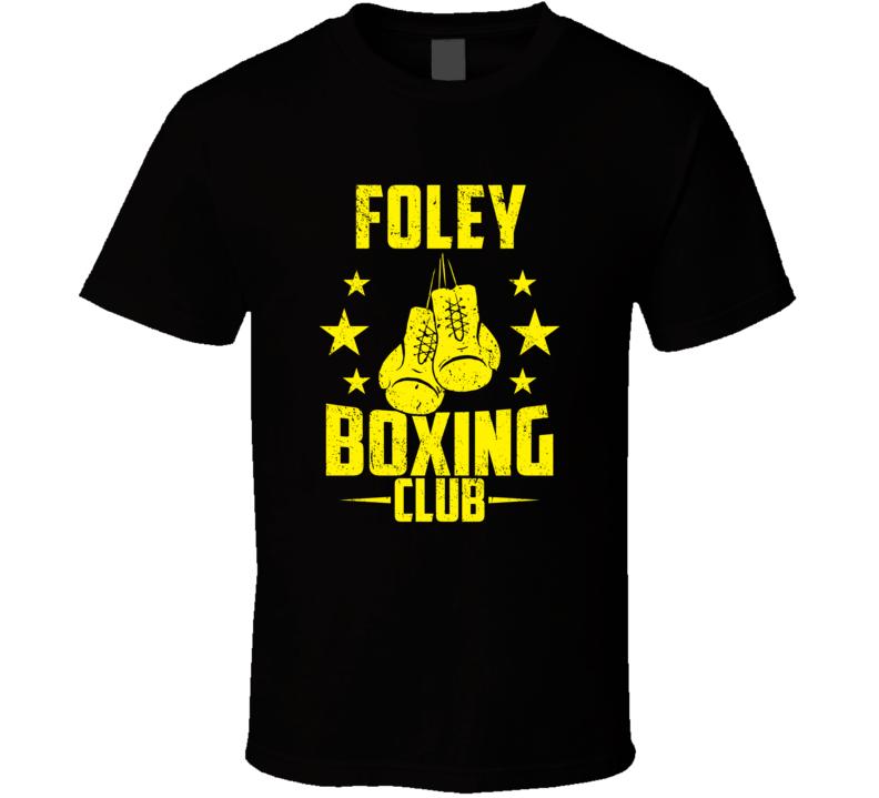 Foley Minnesota Boxing Club Cool Sports Fitness T Shirt